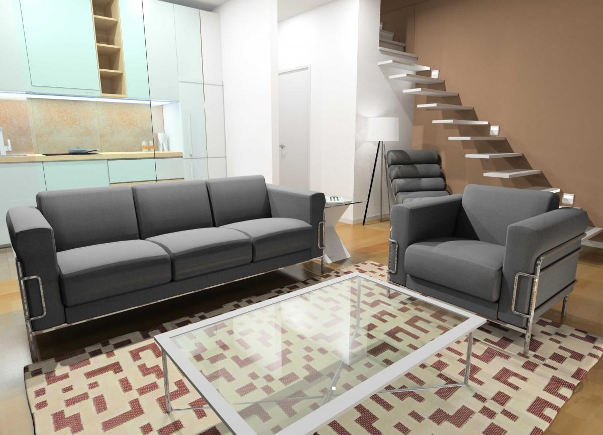 Infografias 3d para proyecto de vivienda en getxo - Viviendas en getxo ...