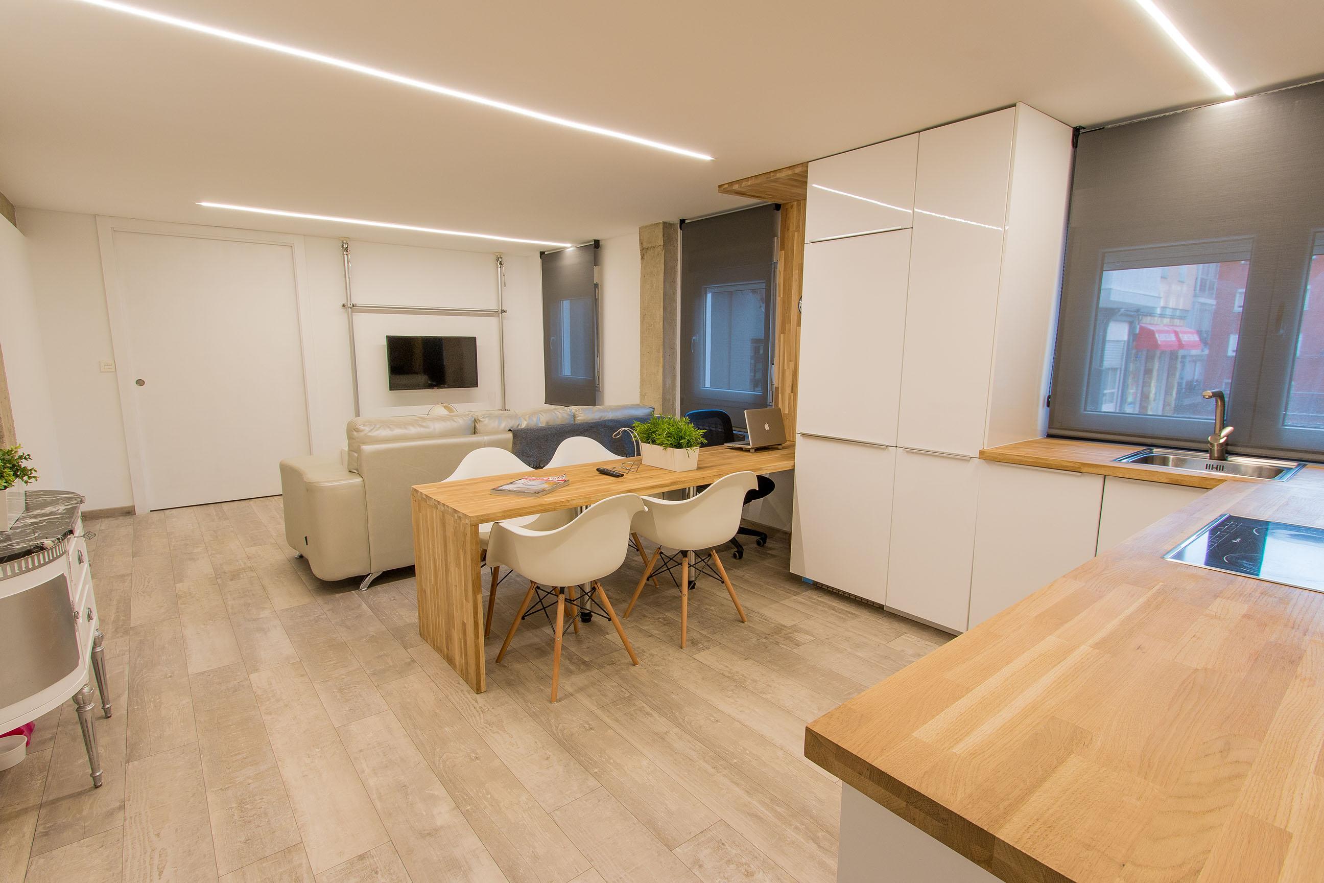 Iluminacion para cocinas techos best luz clida para la - Techos para cocinas ...