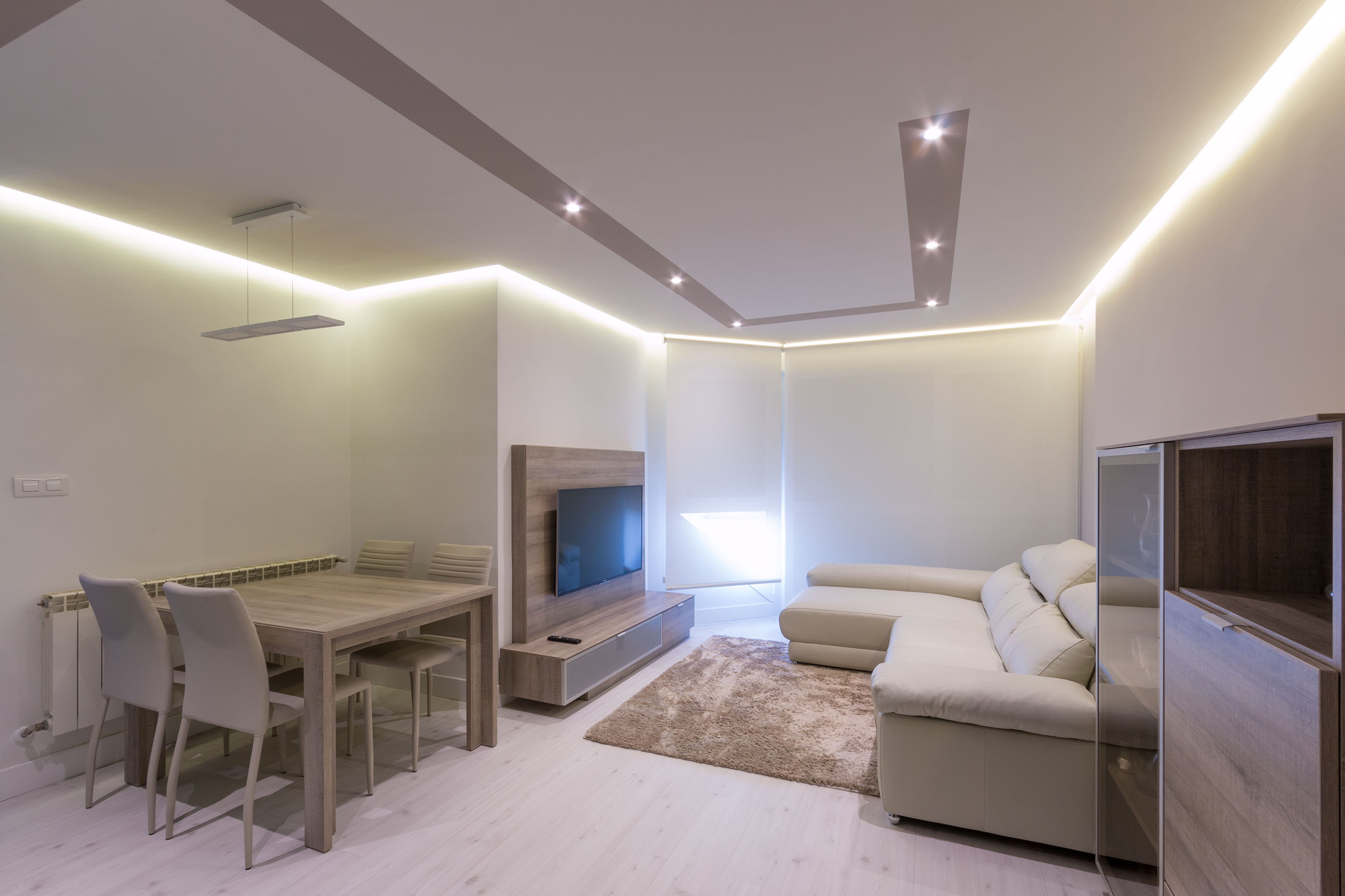 Vivienda en portugalete interdecor bilbao - Iluminacion indirecta led ...